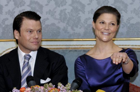 Victoria de Suecia: '¡Sí, sí, sí... nos casamos!'