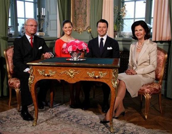 Boda real de la princesa Victoria y el empresario Daniel Westling