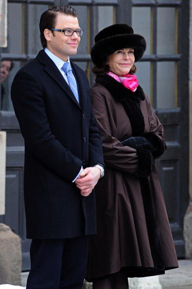 Daniel Westling debuta en un acto oficial junto a la princesa Victoria