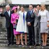 Los príncipes Daniel y Victoria de Suecia asisten a su primer acto oficial tras su boda