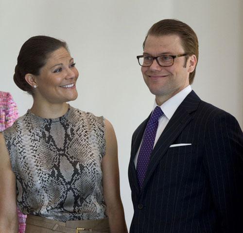 Victoria y Daniel de Suecia visitan Alemania, un país que les trae muy buenos recuerdos