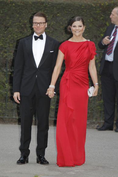 La Casa Real sueca anuncia que los príncipes Victoria y Daniel esperan su primer hijo