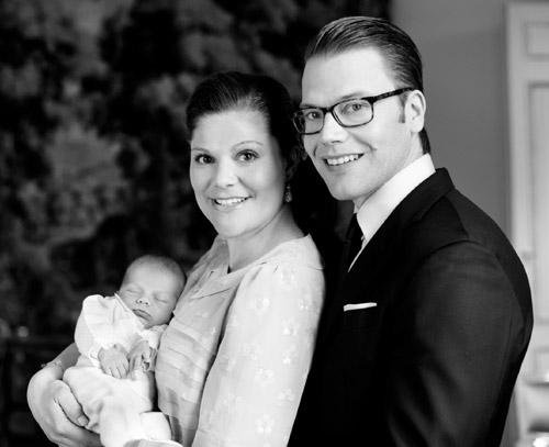 Así será el Bautizo Real de la hija de Victoria y Daniel de Suecia