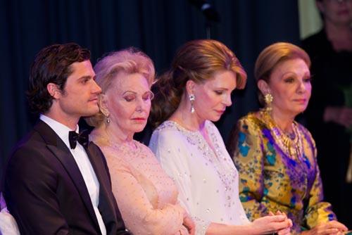 Carlos Felipe de Suecia, Noor de Jordania, Farah Diba... La realeza se reúne en los Premios Bernadotte