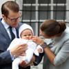 Victoria de Suecia celebra su primer cumpleaños con su hija, la princesa Estelle