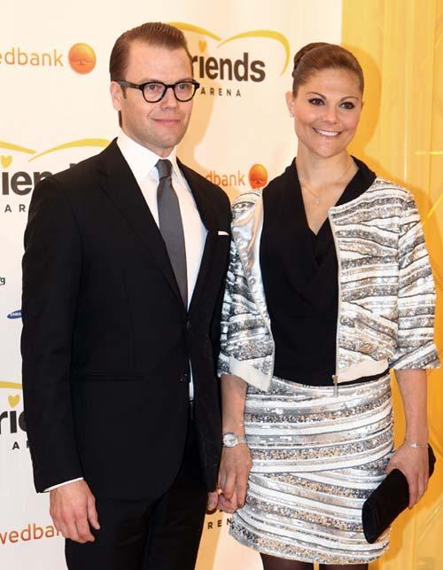Victoria y Daniel de Suecia se contagian de la felicidad de la princesa Magdalena por su compromiso