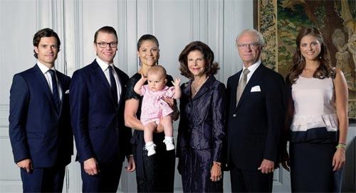 A los suecos les gustaría ver ya a la princesa Victoria en el trono, según una encuesta