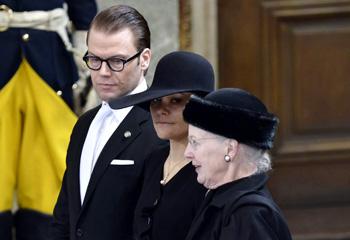 Suecia despide a la princesa Lilian