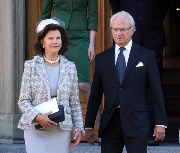 La Familia Real sueca al completo celebra este próximo fin de semana el 40º aniversario en el trono del rey Carlos Gustavo