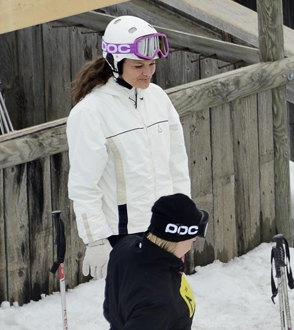 Victoria de Suecia sufre un accidente durante sus vacaciones de esquí en los Alpes