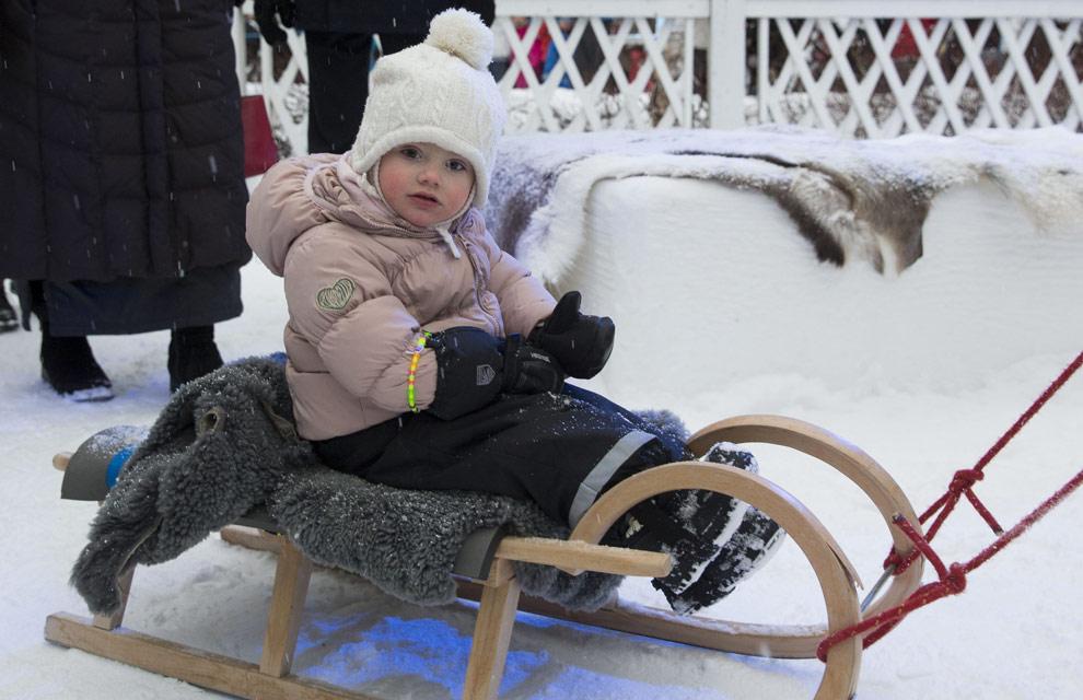 Estelle de Suecia, una pequeña princesa de las nieves