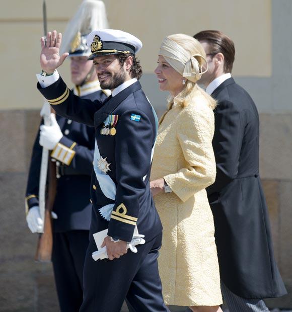 Bautizo Real de la princesa Leonore de Suecia