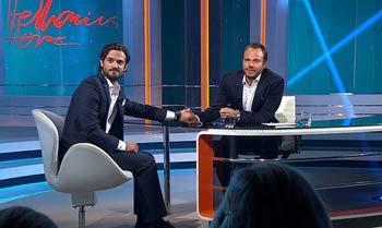 Carlos Felipe de Suecia se confiesa en televisión: defiende a su prometida y se declara 'el hombre más feliz del mundo'