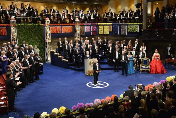 Victoria de Suecia 'eclipsa' a Sofía Hellqvist en su debut en los premios Nobel