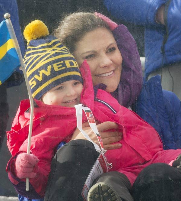 Estelle y Leonore de Suecia: dos rayitos de sol