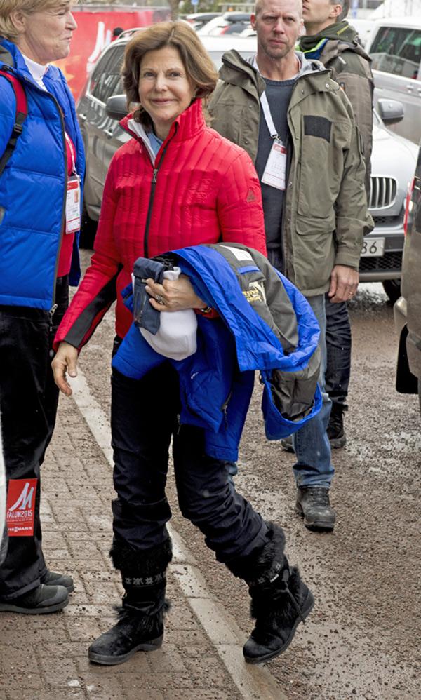 Silvia de Suecia sufre un accidente durante sus vacaciones de esquí