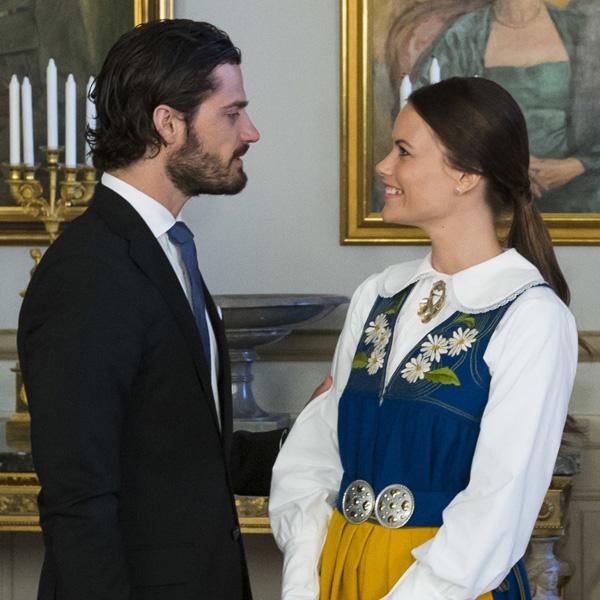 El amor de Carlos Felipe de Suecia y Sofía Hellqvist en su último acto oficial antes de la boda