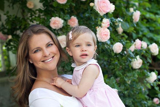 La princesa Magdalena, ya en Londres, bautizará a su hijo en Estocolmo el 11 de octubre