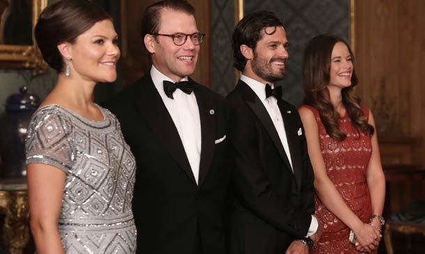 Victoria de Suecia, radiante y muy feliz tras el anuncio de su embarazo