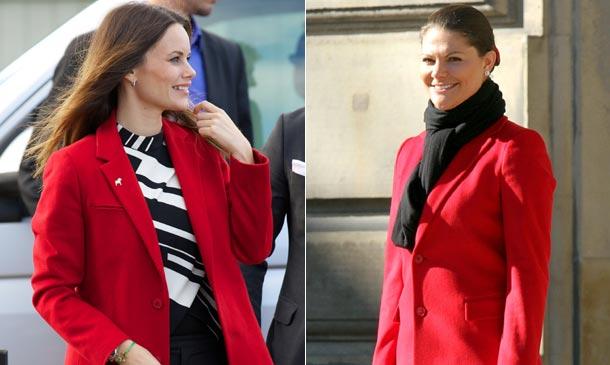 Sofia de Suecia, una Princesa que recicla la ropa de sus cuñadas