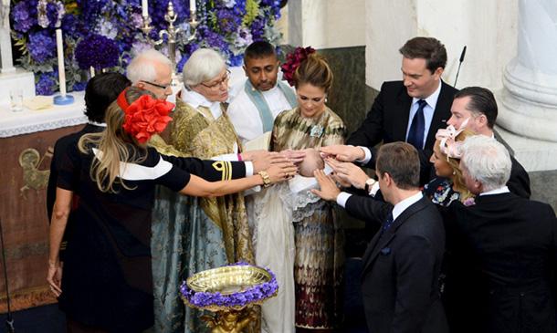 Bautizo Real del príncipe Nicolás de Suecia