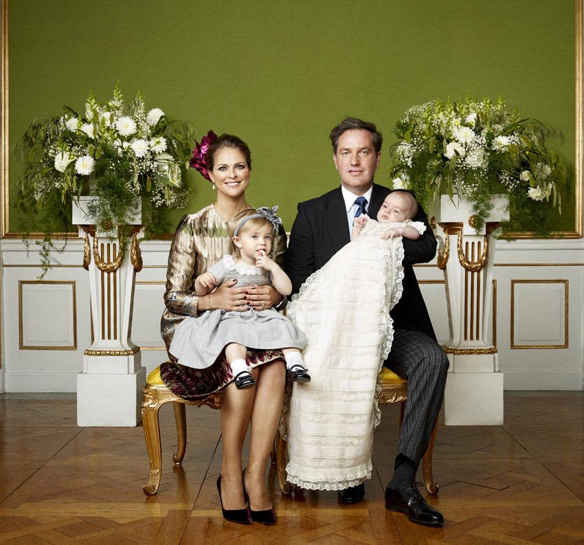 Las fotografías oficiales del Bautizo Real de Nicolás de Suecia ya están aquí