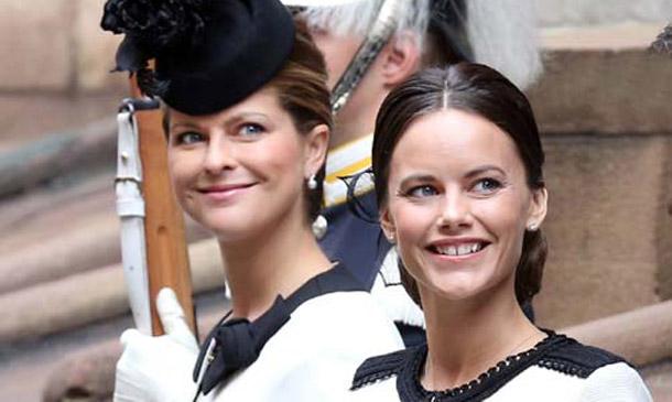 Magdalena de Suecia vuelve al trabajo junto a la princesa Sofia