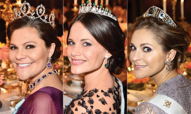 Damas de diamantes en los Nobel del 'glamour'