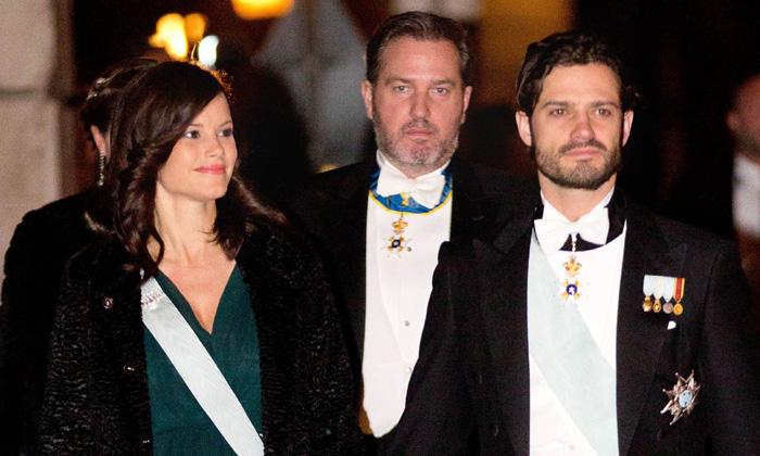 Sofia de Suecia presume de embarazo en la última cita de gala de la Familia Real sueca