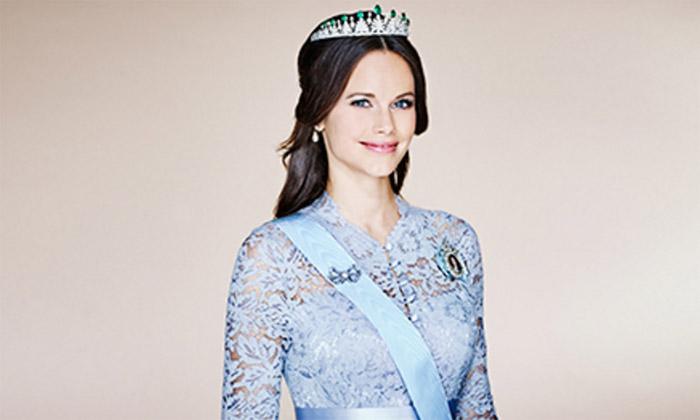 El nuevo retrato oficial de Sofia de Suecia y su dulce espera sin espera