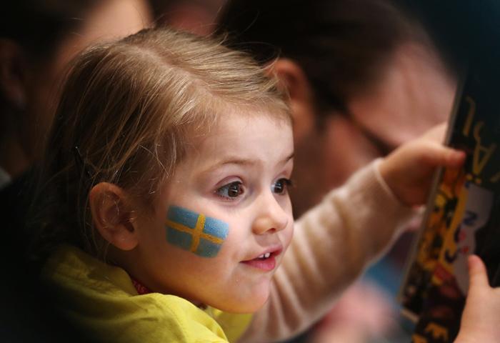 Victoria de Suecia cierra su agenda y la princesa Estelle no puede estar más feliz antes de la llegada del bebé