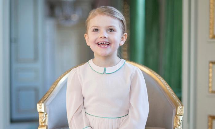 La princesa Estelle cumple cuatro años y su mejor regalo está a punto de llegar