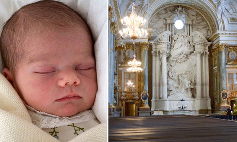 Los detalles del bautizo real de Oscar de Suecia