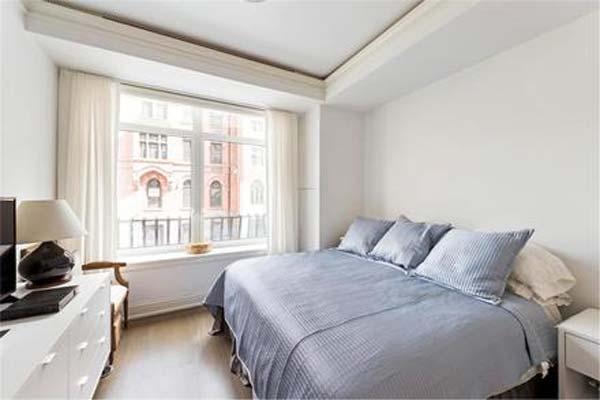 Fotogaler a entramos en el piso de nueva york que for Marmol blanco real