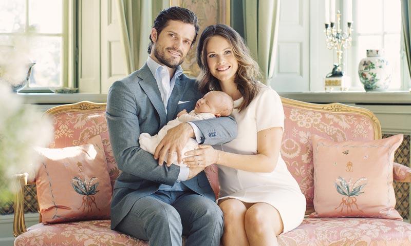 Carlos Felipe y Sofia de Suecia cuentan cómo están viviendo sus primeros meses como padres