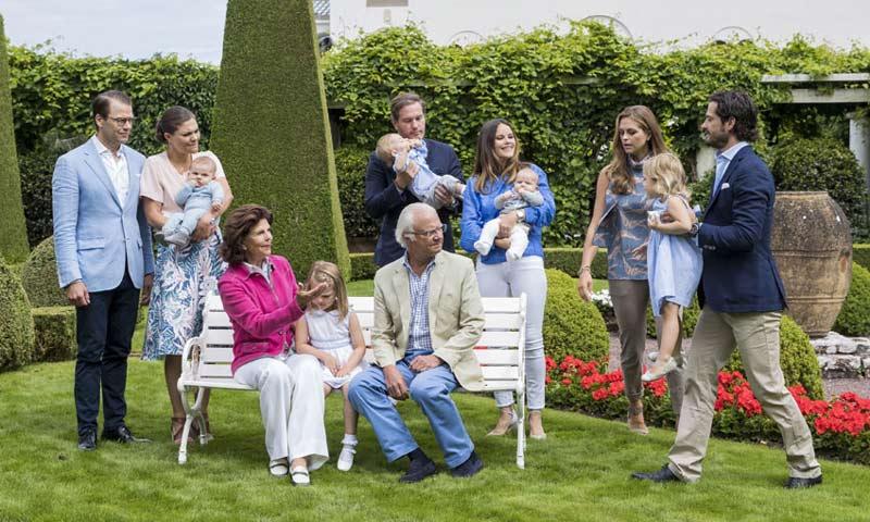 Leonore de Suecia revoluciona el posado de verano de su familia