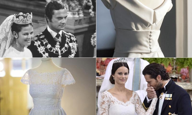 FOTOGALERÍA: Cinco vestidos de novia para un aniversario real