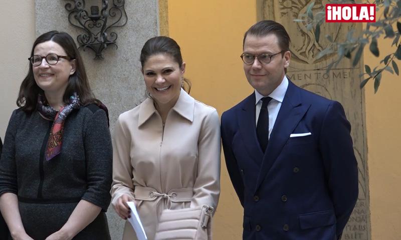 Victoria cantando con las monjas, el 'partido' de Daniel con traje y corbata... Las anécdotas de los Príncipes herederos de Suecia en su viaje a Italia