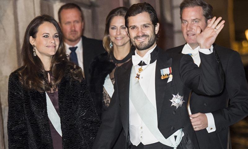 Cambios inesperados y todo el 'glamour' de siempre en la última cita de gala de toda la Familia Real sueca