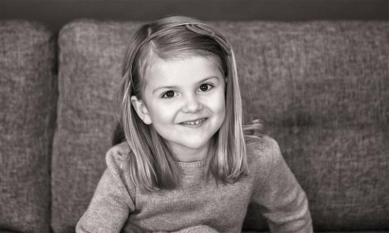 La princesa Estelle de Suecia cumple 5 años y se confirma como la 'baby royal' europea más entrañable