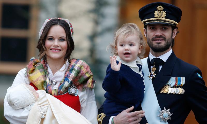 Del traje regional de Sofia a la ausencia de los hijos de Magdalena: todos los detalles del bautizo de Gabriel de Suecia