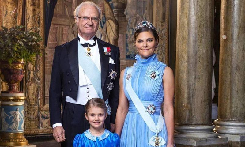 Así son los últimos retratos oficiales de las herederas de la Casa Real de Suecia