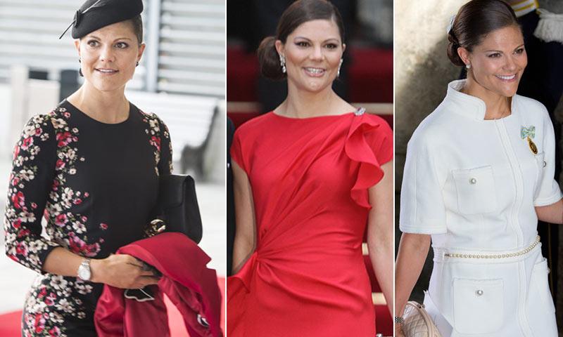 Diez años de elegancia de Victoria de Suecia junto a su estilista, Tina Törnqvist