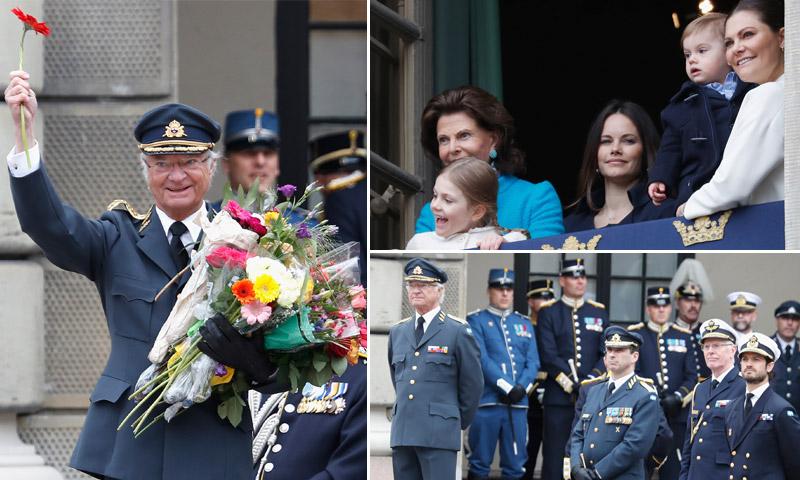 Carlos Gustavo de Suecia bate el récord de tiempo en el trono sueco y de cariño en su 72º cumpleaños