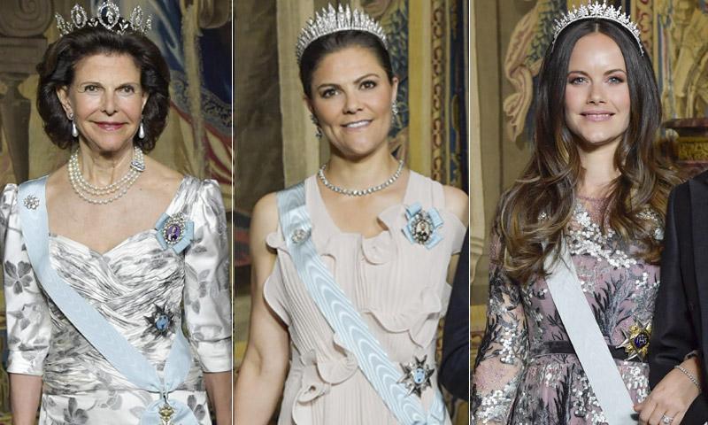 Vuelven brillos de 'glamour' al Palacio Real de Estocolmo