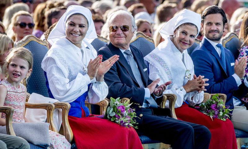 El príncipe Oscar, el otro protagonista en el cumpleaños de su madre, Victoria de Suecia