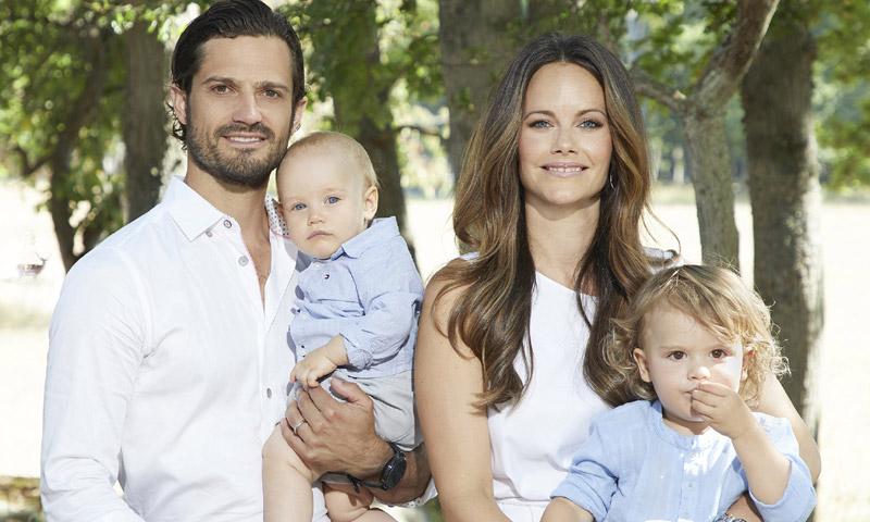 ¡Idénticos! El asombroso parecido con sus padres de los hijos de Carlos Felipe y Sofia de Suecia