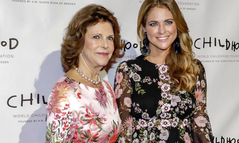 Silvia de Suecia 'socorre' a la princesa Magdalena en Nueva York, después de tiempo sin verse por la mudanza de su hija a Florida