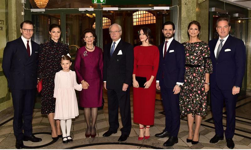 Magdalena de Suecia ya está en casa para pasar la Navidad en familia