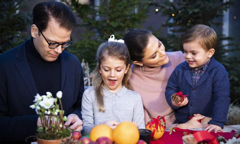 Las tradiciones navideñas de la Familia Real sueca